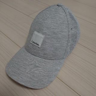 カルバンクライン(Calvin Klein)のカルバンクライン キャップ グレー(キャップ)