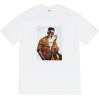 シュプリーム(Supreme)のSUPREME Pharoah Sanders Tee White M(Tシャツ/カットソー(半袖/袖なし))