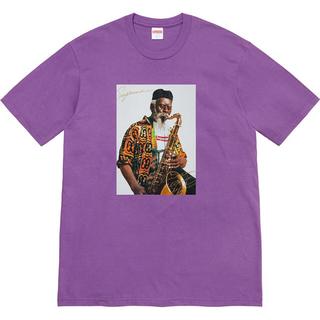 シュプリーム(Supreme)のSupreme Pharoah Sanders Tee Purple L(Tシャツ/カットソー(半袖/袖なし))