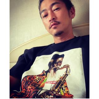 シュプリーム(Supreme)の窪塚着用 Lサイズ Supreme pharoah sanders tee (Tシャツ/カットソー(半袖/袖なし))
