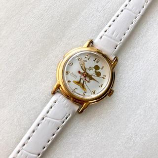 アルバ(ALBA)のALBA ミニーマウス レディースクォーツ腕時計 稼動品 ベルト未使用(腕時計)