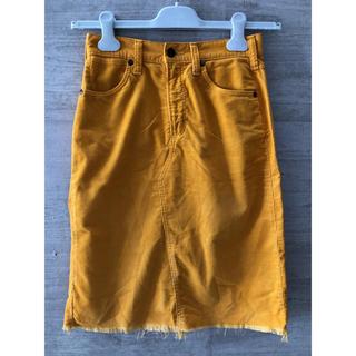 ロンハーマン(Ron Herman)のコーデュロイ スカート(ひざ丈スカート)