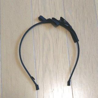 スナイデル(snidel)のsnidel スナイデル 3連 リボン カチューシャ 黒 未使用 送料込(カチューシャ)