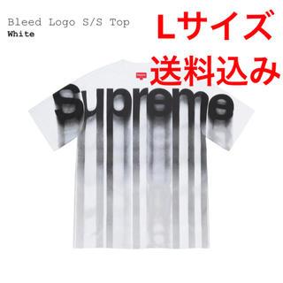 シュプリーム(Supreme)のSupreme 20F/W Bleed Logo S/S Top White(Tシャツ/カットソー(半袖/袖なし))