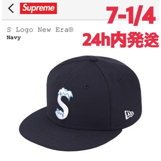 シュプリーム(Supreme)のSupreme S Logo New Era® Navy 7-1/4(キャップ)