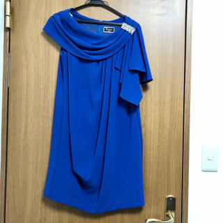 グレースコンチネンタル(GRACE CONTINENTAL)の⚠️値下げ⚠️GRACE CONTINENTAL ワンピース ドレス ビジュー(ミニドレス)