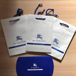 バーバリーブルーレーベル(BURBERRY BLUE LABEL)のバーバリー ブルーレーベル  ショップ袋 ショッパー 9枚(ショップ袋)