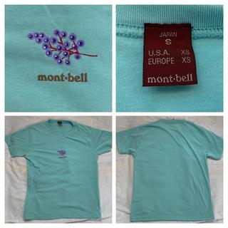 モンベル(mont bell)の★ モンベルmont-bell 半袖Tシャツ★表示サイズS ★半袖Tシャツ (Tシャツ(半袖/袖なし))