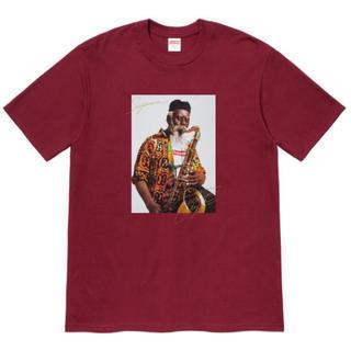 シュプリーム(Supreme)のSupreme Pharoah Sanders Tee Cardinal M(Tシャツ/カットソー(半袖/袖なし))