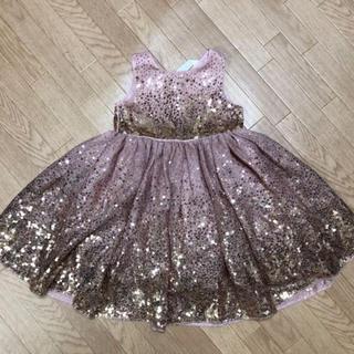 エイチアンドエム(H&M)のH&M 90cm スパンコール ドレス(ドレス/フォーマル)