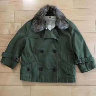 ルカ(LUCA)のLUCA購入 ブランバスク ファー付き七分袖ミリタリージャケット(ミリタリージャケット)
