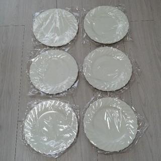 ノリタケ(Noritake)の【未使用】ノリタケ 無地 お皿 6枚セット 白(食器)