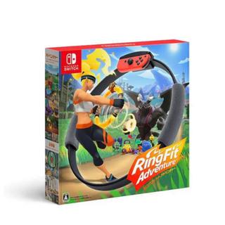 ニンテンドースイッチ(Nintendo Switch)のリングフィットアドベンチャー✨(家庭用ゲームソフト)