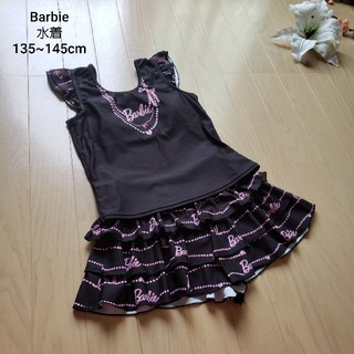 バービー(Barbie)の【美品】バービーセパレート水着M135~145cm(水着)