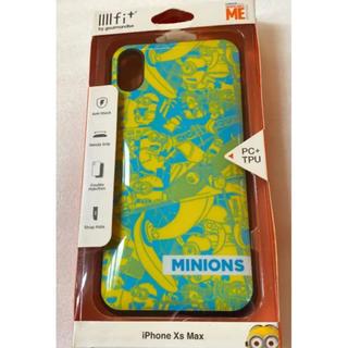 ミニオン(ミニオン)のイーフィットiPhoneXsMax対応(ミニオンズ)(iPhoneケース)
