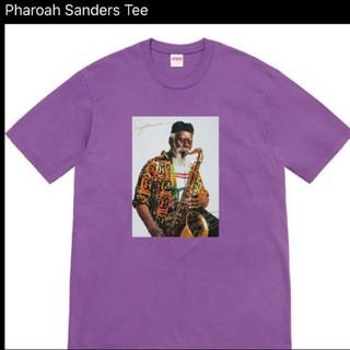 シュプリーム(Supreme)のSupreme Pharoah Sanders Tee 紫 パープル s(Tシャツ/カットソー(半袖/袖なし))