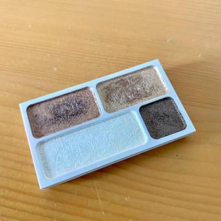 ムジルシリョウヒン(MUJI (無印良品))の無印良品 アイカラー4色タイプ ブラウン 4.5g(アイシャドウ)