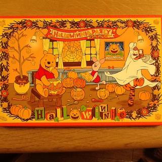 ディズニー(Disney)の2007年 プーさんお菓子の箱☆(バスケット/かご)