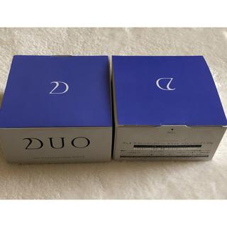 DUO デュオ クレンジングバームホワイト 90g 2個セット(クレンジング/メイク落とし)