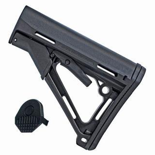 新品 MAGPUL PTSタイプ CTRストック リアル刻印 M4 黒 ブラック(カスタムパーツ)