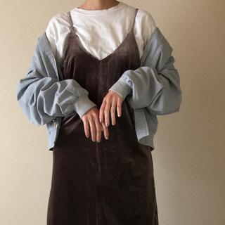 サンタモニカ(Santa Monica)の古着屋購入 くすみカラー used vintage  ブルゾン(ブルゾン)