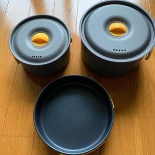 モンベル(mont bell)のmont-bell アルパインクッカー 14+16パンセット(調理器具)