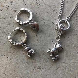 ウィゴー(WEGO)のvintage bear earring necklace set(ネックレス)