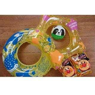 アンパンマン(アンパンマン)の1度使用 アンパンマン アームリング うきわ ボール 水遊びセット(マリン/スイミング)