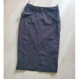 ビーシービージーマックスアズリア(BCBGMAXAZRIA)のエリザベッタフランキゴールド♡膝丈スカート(ひざ丈スカート)