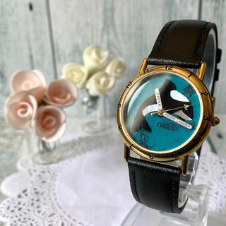 ピエールラニエ(Pierre Lannier)の【動作OK】Pierre Lannier ピエールラニエ 腕時計 シャチ(腕時計)