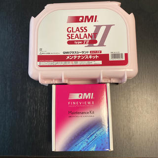 トヨタ(トヨタ)のグラスシーラント QMIファインビューII メンテナンスキット セット(メンテナンス用品)