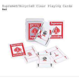 シュプリーム(Supreme)のSupreme/Bicycle Clear Playing Cards トランプ(トランプ/UNO)