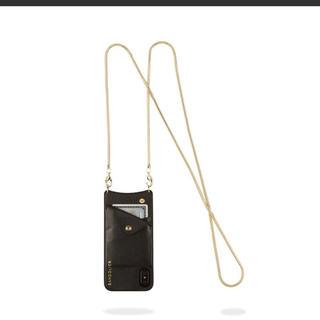 バーニーズニューヨーク(BARNEYS NEW YORK)の新品❤︎BANDOLIER バンドリヤー iPhone XS MAX ケース (iPhoneケース)