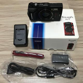オリンパス(OLYMPUS)の超美品 オリンパス OLYMPUS TG5 ダイビング カメラ 電池なし(マリン/スイミング)
