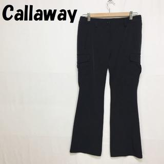 キャロウェイゴルフ(Callaway Golf)の【人気】CALLAWAY/キャロウェイ ゴルフ パンツ スラックス ブラック M(スラックス)