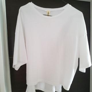 エンフォルド(ENFOLD)のnagonstans  変形カットソー(Tシャツ(半袖/袖なし))