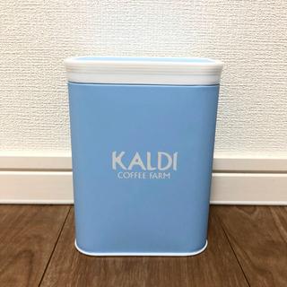 カルディ(KALDI)のカルディ  キャニスター缶 数量限定 新品未使用(容器)