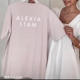 アリシアスタン(ALEXIA STAM)のレア♡ピンク♡Circle Logo Print Tee Pink(Tシャツ/カットソー(半袖/袖なし))