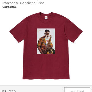 シュプリーム(Supreme)のsupreme pharoah sanders tee 赤 シュプリーム (Tシャツ/カットソー(半袖/袖なし))