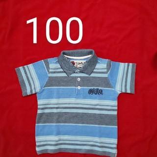 クイックシルバー(QUIKSILVER)のクイックシルバーQuicksilverキッズポロシャツ(Tシャツ/カットソー)