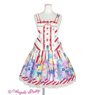 アンジェリックプリティー(Angelic Pretty)のtoy doll box サロペット アイボリー (サロペット/オーバーオール)
