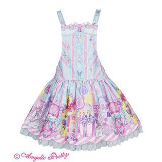 アンジェリックプリティー(Angelic Pretty)のtoy doll box サロペット サックス(サロペット/オーバーオール)