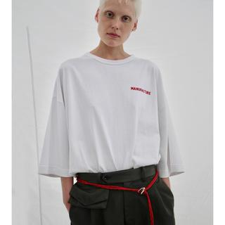 ジエダ(Jieda)のCREATIVE MANUFACTURE GRAPHIC T-SHIRT WHT(Tシャツ/カットソー(半袖/袖なし))