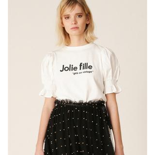 リリーブラウン(Lily Brown)のlilybrown♡パフスリーブ Tシャツ(Tシャツ(半袖/袖なし))