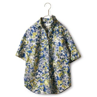 フェリシモ(FELISSIMO)の陽気に着こなすシャツ  フェリシモ(シャツ/ブラウス(半袖/袖なし))