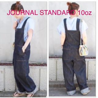 ジャーナルスタンダード(JOURNAL STANDARD)のJOURNAL STANDARD 10oz【美品】デニムサロペット(サロペット/オーバーオール)