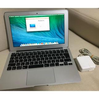 マック(Mac (Apple))の8 mac book air 2013 11インチ 美品 完動品(ノートPC)