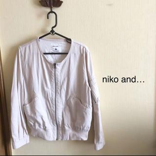 ニコアンド(niko and...)のniko and★ジャケット★(ノーカラージャケット)