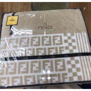 フェンディ(FENDI)のFENDI 毛布 新品未使用(毛布)