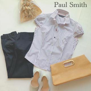 ポールスミス(Paul Smith)のポールスミス ストライプシャツ(シャツ/ブラウス(半袖/袖なし))